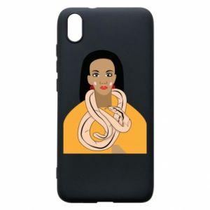 Etui na Xiaomi Redmi 7A Dziewczyna z wężem