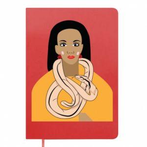 Notes Dziewczyna z wężem