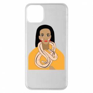 Etui na iPhone 11 Pro Max Dziewczyna z wężem