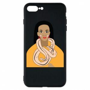 Etui do iPhone 7 Plus Dziewczyna z wężem