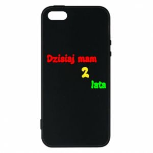 Phone case for iPhone 5/5S/SE I'm two years old today
