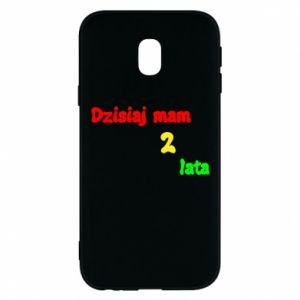 Phone case for Samsung J3 2017 I'm two years old today