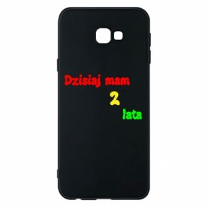 Phone case for Samsung J4 Plus 2018 I'm two years old today