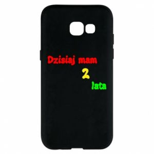 Phone case for Samsung A5 2017 I'm two years old today