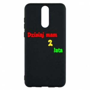 Phone case for Huawei Mate 10 Lite I'm two years old today