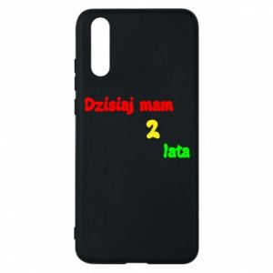 Phone case for Huawei P20 I'm two years old today