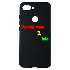 Phone case for Xiaomi Mi8 Lite I'm two years old today