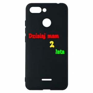 Phone case for Xiaomi Redmi 6 I'm two years old today