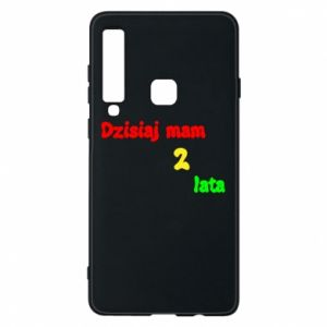 Phone case for Samsung A9 2018 I'm two years old today