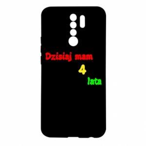 Etui na Xiaomi Redmi 9 Dzisiaj mam 4 lata