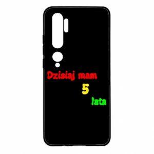 Etui na Xiaomi Mi Note 10 Dzisiaj mam 5 lat
