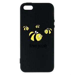 Etui na iPhone 5/5S/SE Dziwne pszczoły
