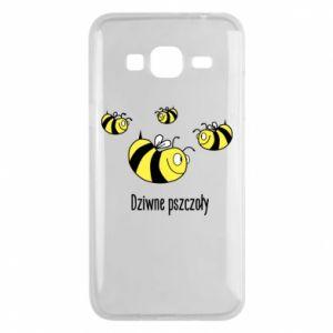 Etui na Samsung J3 2016 Dziwne pszczoły