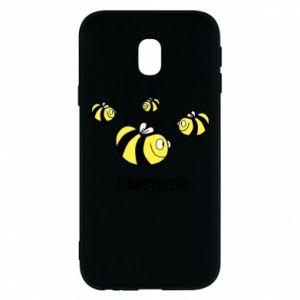 Etui na Samsung J3 2017 Dziwne pszczoły