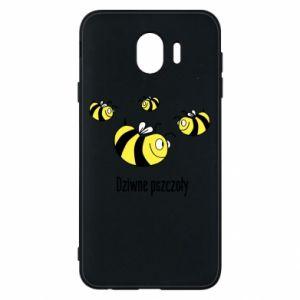 Etui na Samsung J4 Dziwne pszczoły