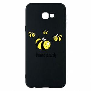 Etui na Samsung J4 Plus 2018 Dziwne pszczoły