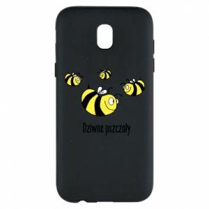 Etui na Samsung J5 2017 Dziwne pszczoły