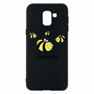 Etui na Samsung J6 Dziwne pszczoły