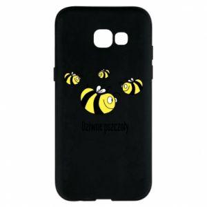 Etui na Samsung A5 2017 Dziwne pszczoły