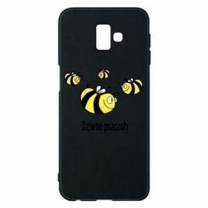 Etui na Samsung J6 Plus 2018 Dziwne pszczoły