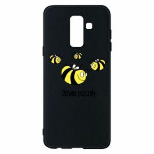 Etui na Samsung A6+ 2018 Dziwne pszczoły