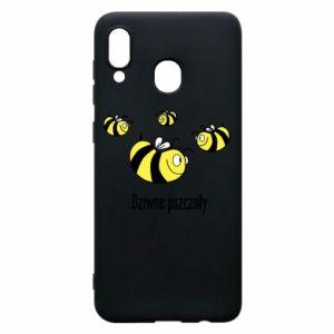 Etui na Samsung A20 Dziwne pszczoły