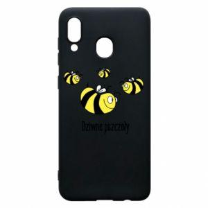 Etui na Samsung A30 Dziwne pszczoły