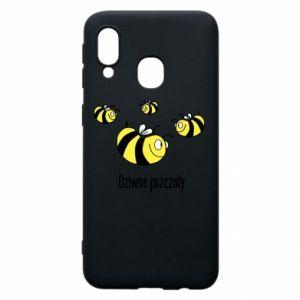 Etui na Samsung A40 Dziwne pszczoły