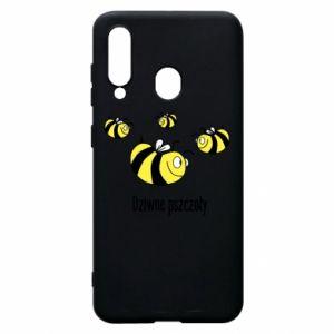 Etui na Samsung A60 Dziwne pszczoły
