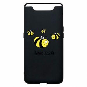 Etui na Samsung A80 Dziwne pszczoły
