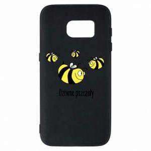 Etui na Samsung S7 Dziwne pszczoły