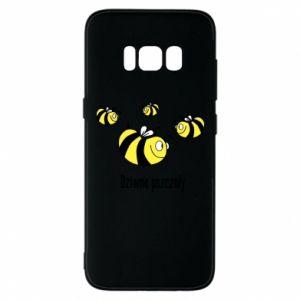 Etui na Samsung S8 Dziwne pszczoły