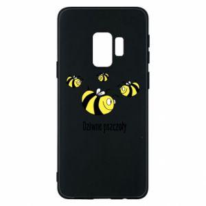 Etui na Samsung S9 Dziwne pszczoły