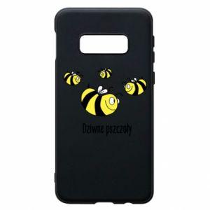 Etui na Samsung S10e Dziwne pszczoły