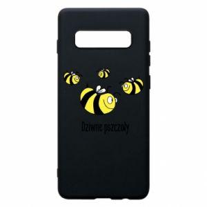 Etui na Samsung S10+ Dziwne pszczoły