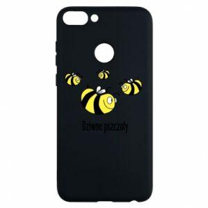 Etui na Huawei P Smart Dziwne pszczoły