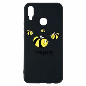 Etui na Huawei P Smart Plus Dziwne pszczoły
