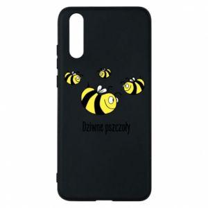 Etui na Huawei P20 Dziwne pszczoły