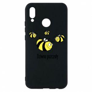 Etui na Huawei P20 Lite Dziwne pszczoły