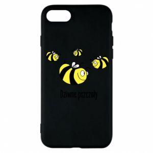 Etui na iPhone 7 Dziwne pszczoły
