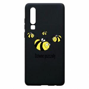 Etui na Huawei P30 Dziwne pszczoły
