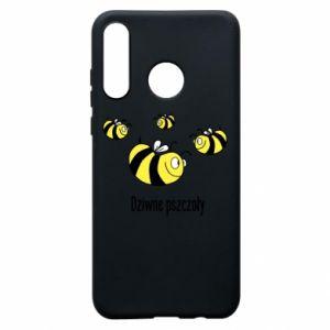 Etui na Huawei P30 Lite Dziwne pszczoły