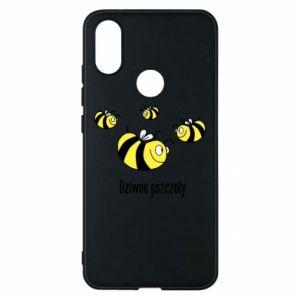 Etui na Xiaomi Mi A2 Dziwne pszczoły