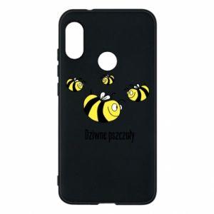 Etui na Mi A2 Lite Dziwne pszczoły