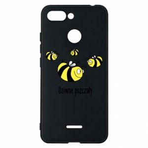 Etui na Xiaomi Redmi 6 Dziwne pszczoły