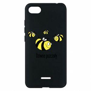 Etui na Xiaomi Redmi 6A Dziwne pszczoły