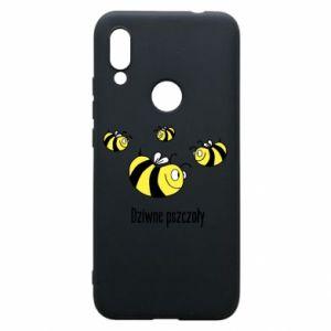 Etui na Xiaomi Redmi 7 Dziwne pszczoły