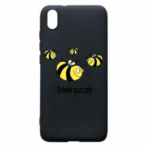 Etui na Xiaomi Redmi 7A Dziwne pszczoły