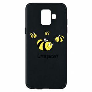 Etui na Samsung A6 2018 Dziwne pszczoły