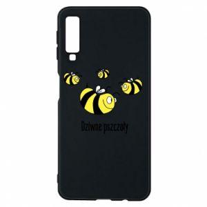 Etui na Samsung A7 2018 Dziwne pszczoły